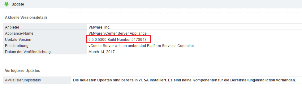 How to patch the vCenter Server Appliance via CLI