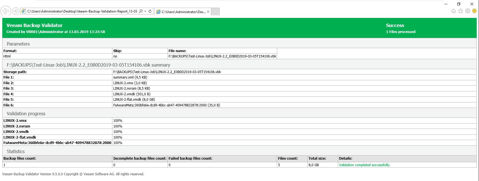 Veeam Backup Validator PowerShell GUI - virtualhome blog