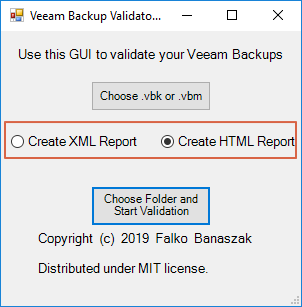 Veeam Backup Validator PowerShell