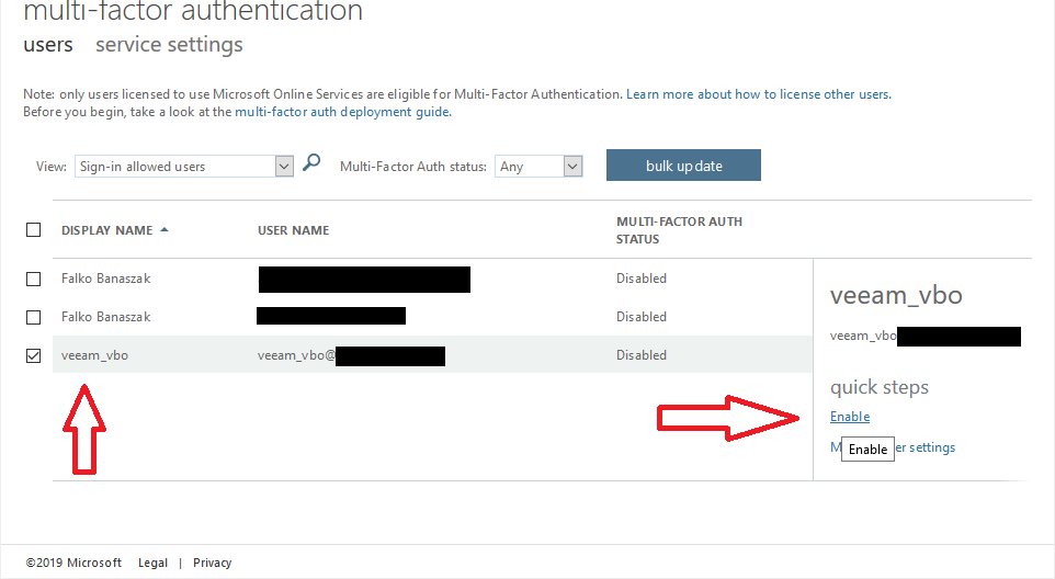 Modern Authentication with Veeam Backup for Office 365 V3