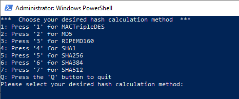 file hash calculator