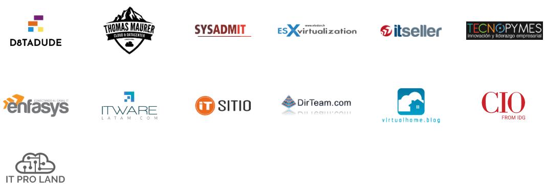 Veeam ON Virtual Conference Media Partners