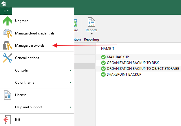 Veeam Office365 Password Manager