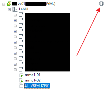 switching vCenter views